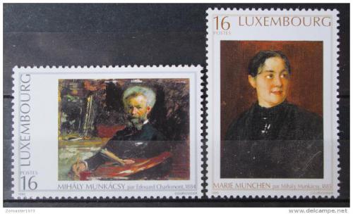 Poštovní známky Lucembursko 1996 Umìní Mi# 1396-97