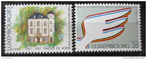 Poštovní známky Lucembursko 1997 Výroèí Mi# 1416-17