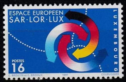 Poštovní známka Lucembursko 1997 Region Saar-Lor-Lux Mi# 1425
