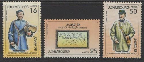Poštovní známky Lucembursko 1998 Listonoši Mi# 1446-48