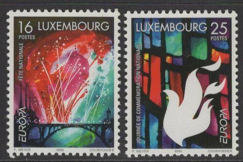 Poštovní známky Lucembursko 1998 Evropa CEPT Mi# 1451-52