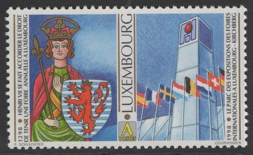 Poštovní známka Lucembursko 1998 Císaø Jindøich VII. Mi# 1453
