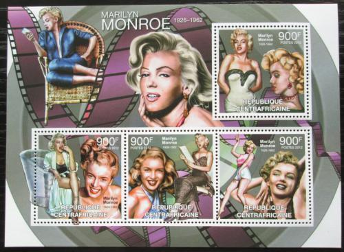 Poštovní známky SAR 2012 Marilyn Monroe Mi# 3712-15 Kat 16€