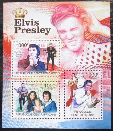 Poštovní známky SAR 2011 Elvis Presley Mi# 3152-54 Kat 12€