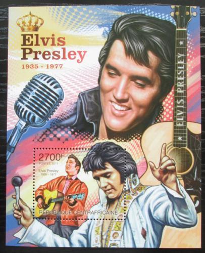 Poštovní známka SAR 2011 Elvis Presley Mi# Block 746 Kat 11€