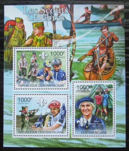 Poštovní známky SAR 2011 Skauti Mi# 3140-42 Kat 12€