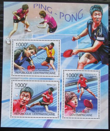 Poštovní známky SAR 2011 Stolní tenis Mi# 3168-70 Kat 12€