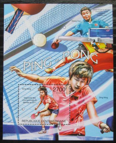 Poštovní známka SAR 2011 Stolní tenis Mi# Block 750 Kat 11€