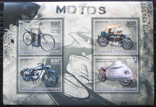 Poštovní známky SAR 2012 Historické motocykly Mi# 3832-35 Kat 16€