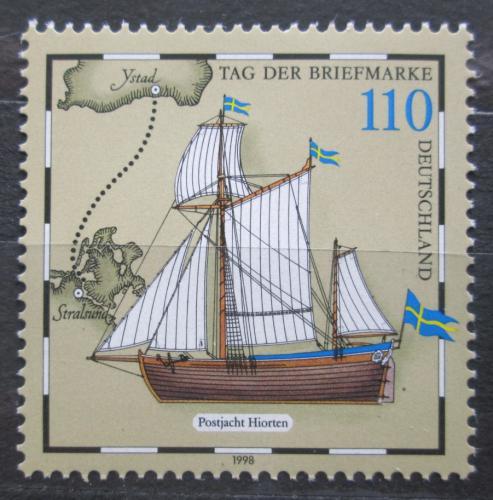 Poštovní známka Nìmecko 1998 Plachetnice Mi# 2022