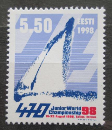 Poštovní známka Estonsko 1998 Plachetnice Mi# 329