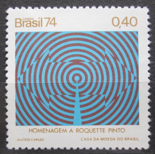 Poštovní známka Brazílie 1974 Rozhlas Mi# 1427