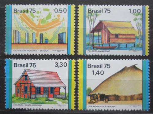 Poštovní známky Brazílie 1975 Èlovìk a životní prostøedí Mi# 1475,1477-78,1480 Kat 11.50€
