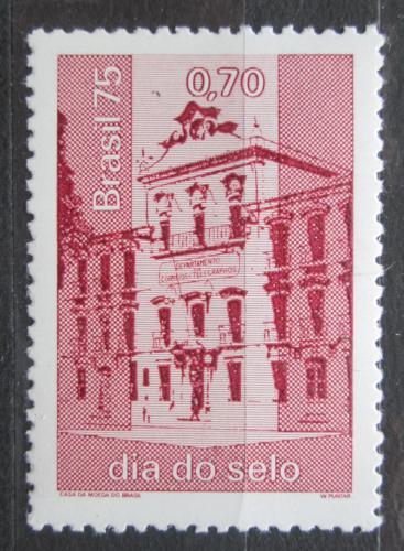 Poštovní známka Brazílie 1975 Hlavní pošta v Rio de Janeiro Mi# 1498