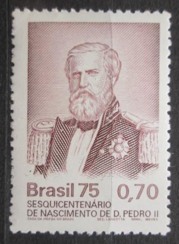 Poštovní známka Brazílie 1975 Císaø Pedro II. Mi# 1513