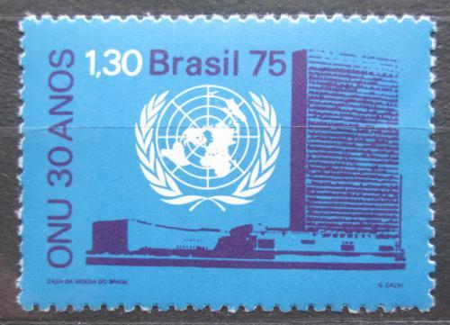Poštovní známka Brazílie 1975 OSN, 30. výroèí Mi# 1518