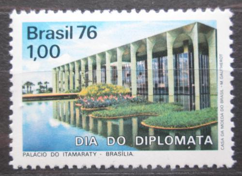 Poštovní známka Brazílie 1976 Palác Itamarati Mi# 1528