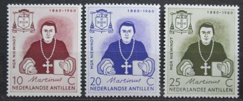 Poštovní známky Nizozemské Antily 1960 Martinus Johannes Niewindt Mi# 106-08