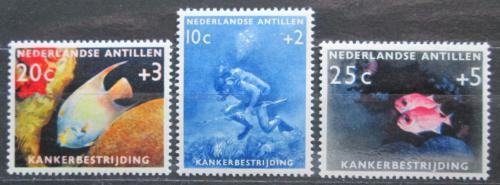 Poštovní známky Nizozemské Antily 1960 Moøská fauna Mi# 110-12 Kat 6€
