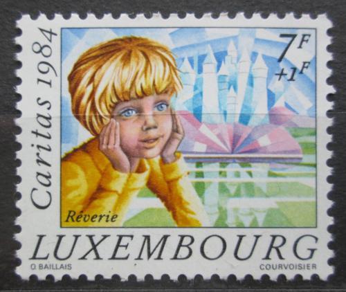 Poštovní známka Lucembursko 1984 Dítì Mi# 1113