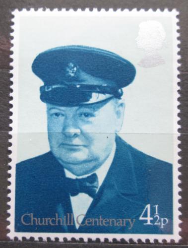 Poštovní známka Velká Británie 1974 Winston Churchill Mi# 659