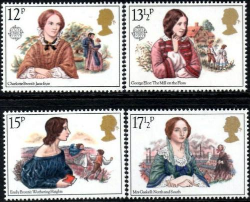 Poštovní známky Velká Británie 1980 Slavné ženy Mi# 841-44