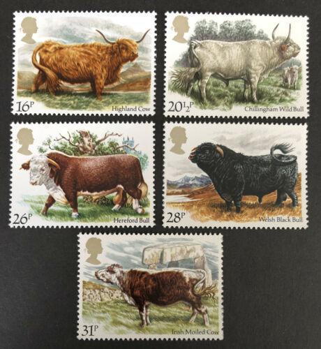 Poštovní známky Velká Británie 1984 Skot Mi# 979-83 Kat 5€