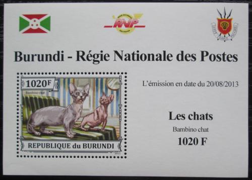 Poštovní známka Burundi 2013 Bambino DELUXE Mi# 3248 Block