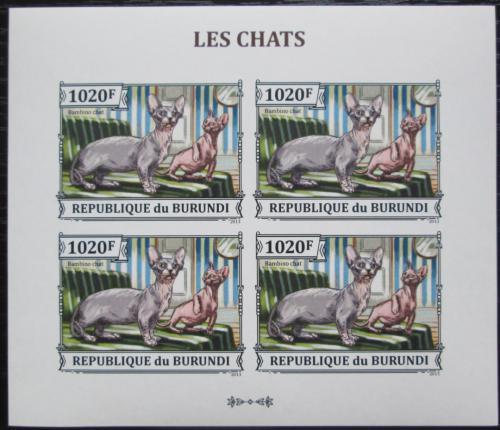 Poštovní známky Burundi 2013 Bambino neperf. Mi# 3248 B Bogen