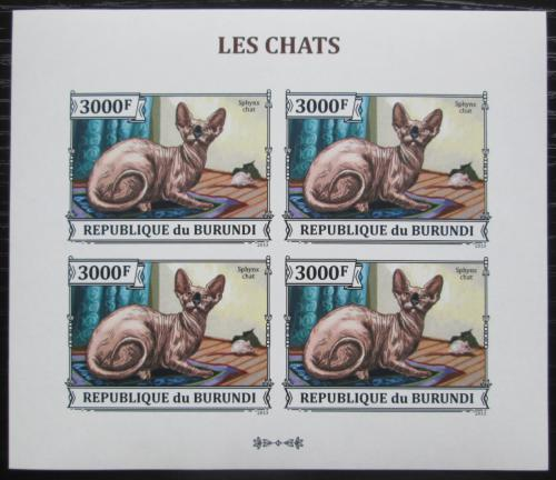 Poštovní známky Burundi 2013 Sphynx neperf. Mi# 3250 B Bogen