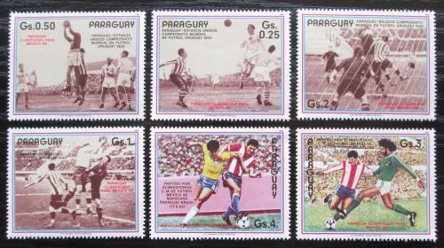 Poštovní známky Paraguay 1986 MS ve fotbale Mi# 3977-82