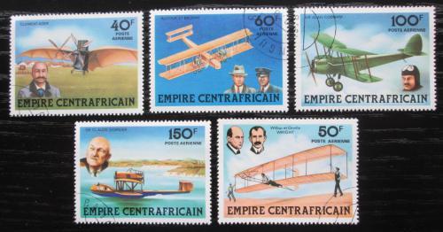 Poštovní známky SAR 1978 Historie letectví Mi# 559-63
