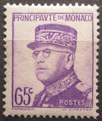 Poštovní známka Monako 1938 Kníže Louis II. Mi# 172 Kat 40€
