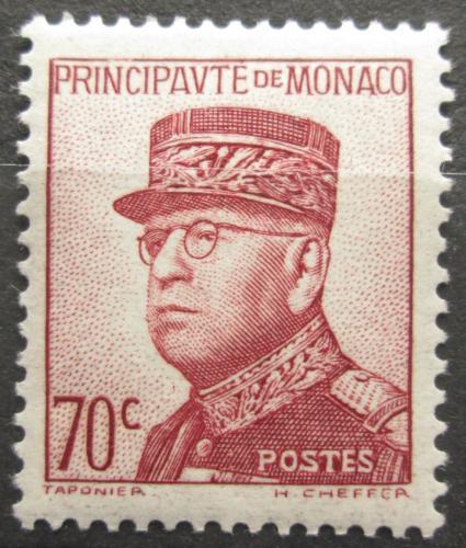 Poštovní známka Monako 1939 Kníže Louis II. Mi# 173