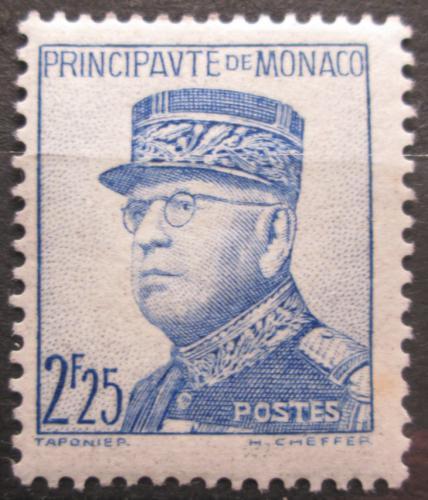 Poštovní známka Monako 1939 Kníže Louis II. Mi# 181