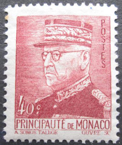 Poštovní známka Monako 1941 Kníže Louis II. Mi# 257