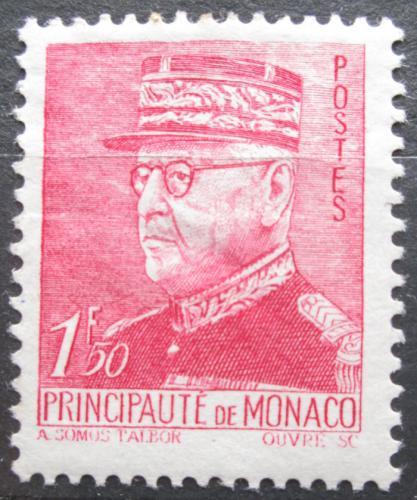 Poštovní známka Monako 1941 Kníže Louis II. Mi# 261