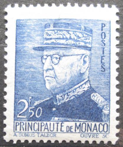 Poštovní známka Monako 1941 Kníže Louis II. Mi# 265