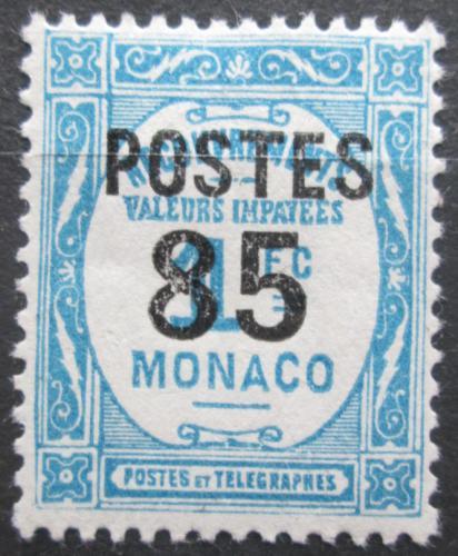 Poštovní známka Monako 1937 Doplatní pøetisk Mi# 158 Kat 10€