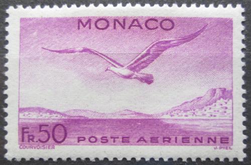 Poštovní známka Monako 1942 Racek støedomoøský Mi# 271 Kat 5€