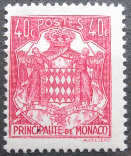 Poštovní známka Monako 1943 Státní znak Mi# 223