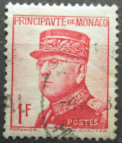 Poštovní známka Monako 1938 Kníže Louis II. Mi# 176 a Kat 15€