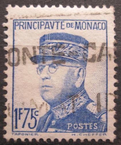 Poštovní známka Monako 1938 Kníže Louis II. Mi# 179 Kat 20€