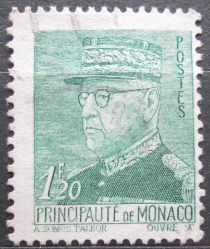 Poštovní známka Monako 1942 Kníže Louis II. Mi# 260