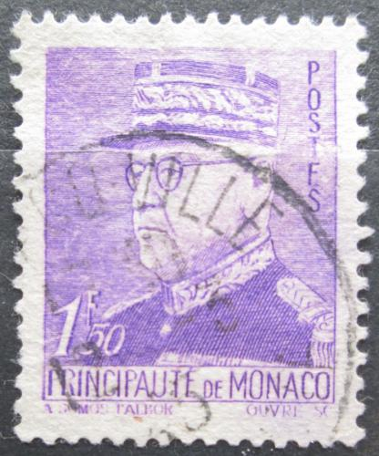 Poštovní známka Monako 1942 Kníže Louis II. Mi# 262