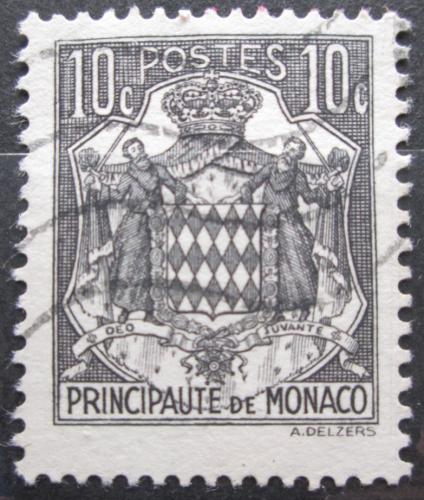 Poštovní známka Monako 1943 Státní znak Mi# 220