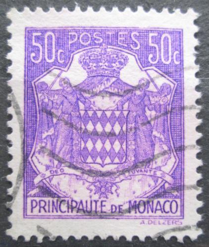 Poštovní známka Monako 1943 Státní znak Mi# 224