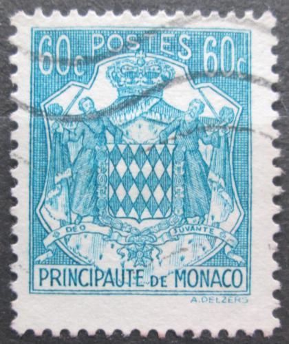 Poštovní známka Monako 1943 Státní znak Mi# 226