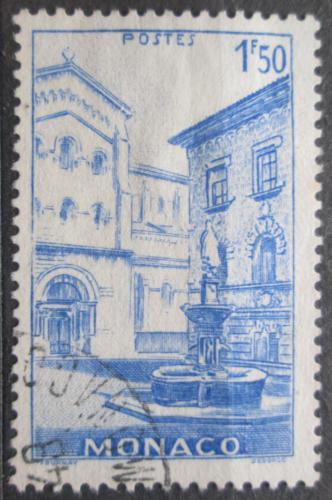 Poštovní známka Monako 1946 Kašna na námìstí Mi# 233