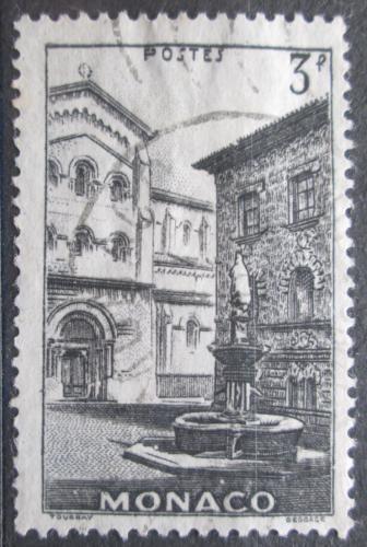 Poštovní známka Monako 1943 Kašna na námìstí Mi# 237